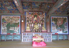 Hall of the Four Heavenly Kings at Beomeosa Temple (Busan, South Korea)