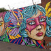 Liverpool colourful graffiti by DianneB 2007.