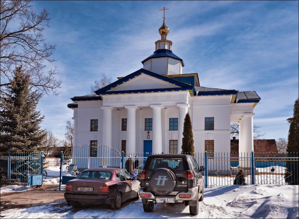 Гадичево, Беларусь, Церковь св. Екатерины