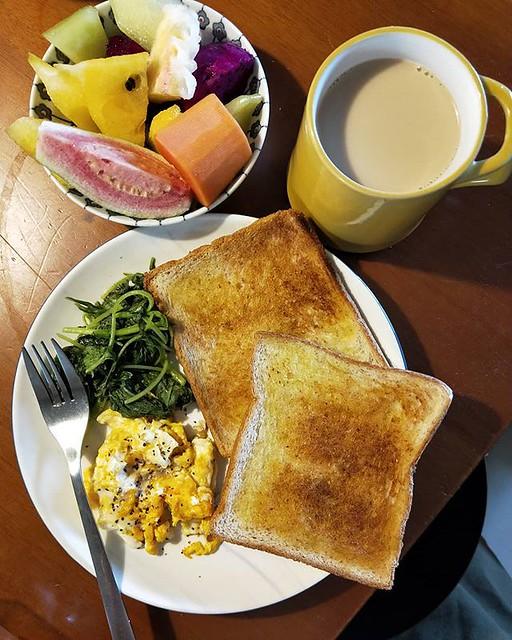 20180914 給自己一份豐盛 無論如何 今天要加油! #主婦的早餐 #我需要正能量