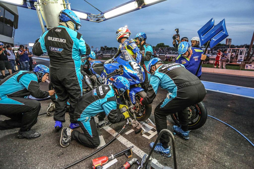 Bol,Dor,2018,SUZUKI ENDURANCE RACING TEAM, PHILIPPE Vincent, MASSON Etienne, BLACK Gregg, Suzuki, GSX-R 1000, EWC