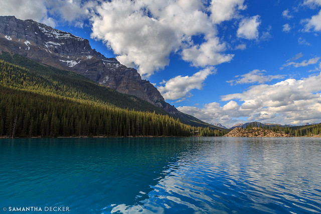 A Beautiful Afternoon on Moraine Lake