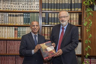 Director-General of the National Library of the Kingdom of Morocco visited NSZL