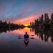 Peak sunset by CraigGoodwin2