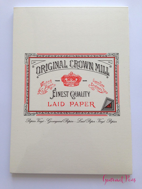Original Crown Mill Fine Laid Paper 1