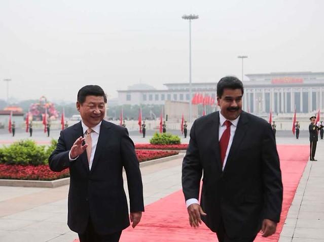 Venezuela anuncia acordos milionários com a China