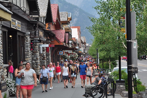 Banff is busy