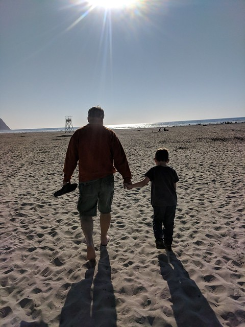 Seaside 2018: Walking with Papa