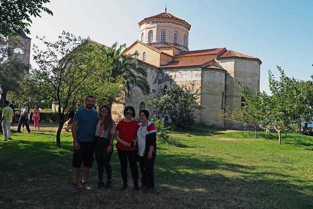 Trabzonda Ayasofya kilisesi hatırası