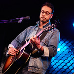 Wed, 05/09/2018 - 12:32am - Amos Lee performs an FUV Live session at the McKittrick Hotel in New York City, 9/4/18. Hosted by Rita Houston. Photo by Gus Philippas/WFUV