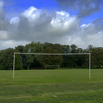 Moor Park goal posts