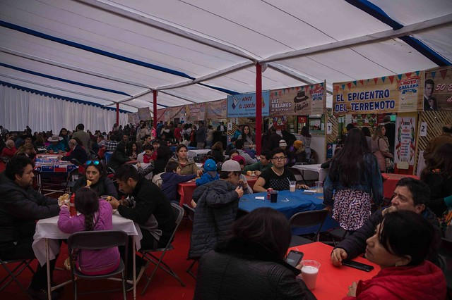 Carpa Familiar de fiestas patrias 2018 Día 1