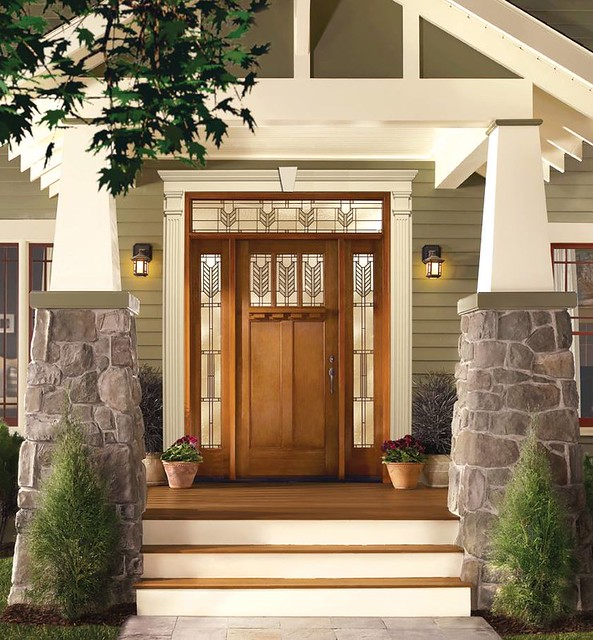 Modern Front Entrance Door Decora