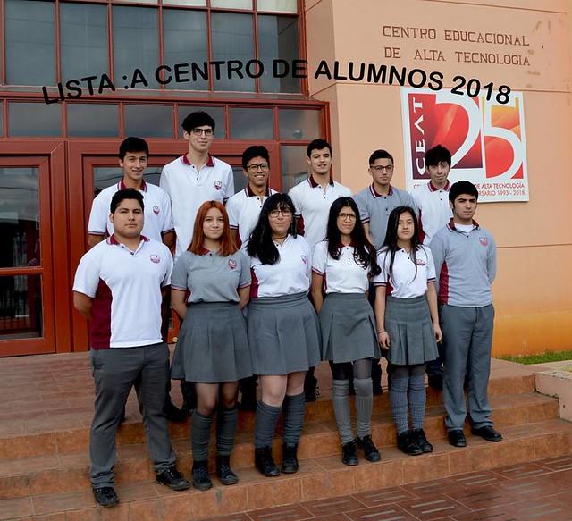 Lista A: nuevo CAA 2018-2019