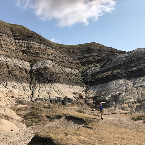 Family visit to the Alberta Badlands