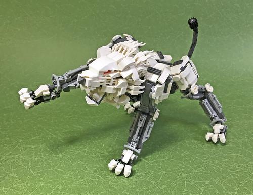 LEGO Mech Lion ver2-08