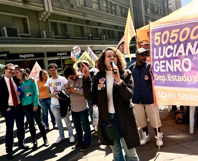 Esquina Democrática com PSOL e PCB