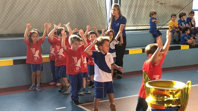 Encerramento Olimpíada 2018 Educação Infantil