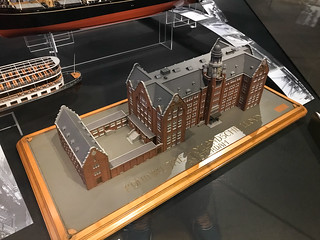 Model of Amsterdam Lloyd building