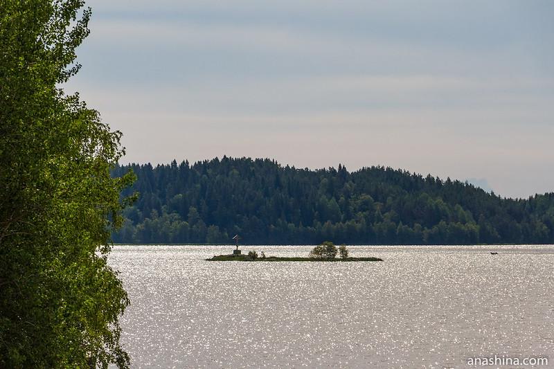 Скала Вирсталуото, Ладожское озеро