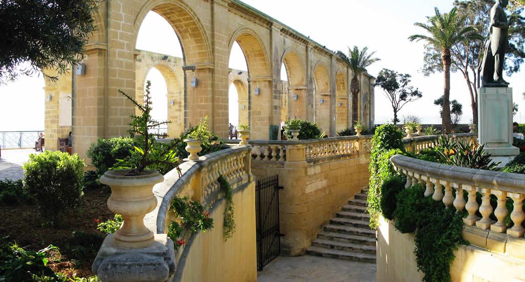 Bezienswaardigheden Valletta, Upper Barrakka Gardens | Malta & Gozo