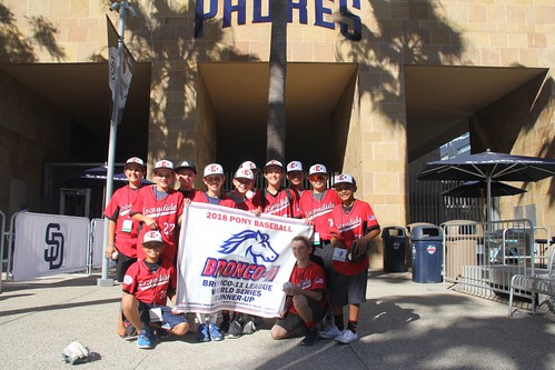 2018 San Diego Padres Youth Baseball All-Stars Celebration