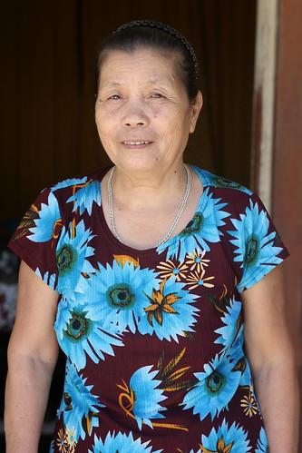 Portrait of Ms. Dang Thi Miet