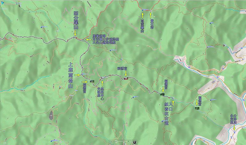 022、標示軌跡二:紙寮坑古道福德宮