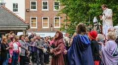 YMPST waggon play performance, St Sampson's Square, 16 September 2018 - 09