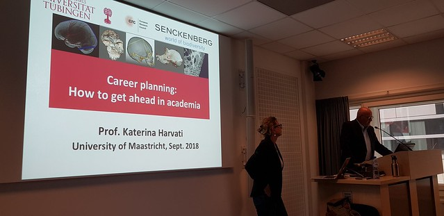 Prof. Katerina Harvati: How to get ahead in academia?