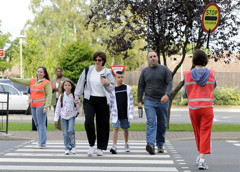 Drivers: Be Cautious of Children Walking and Biking to School