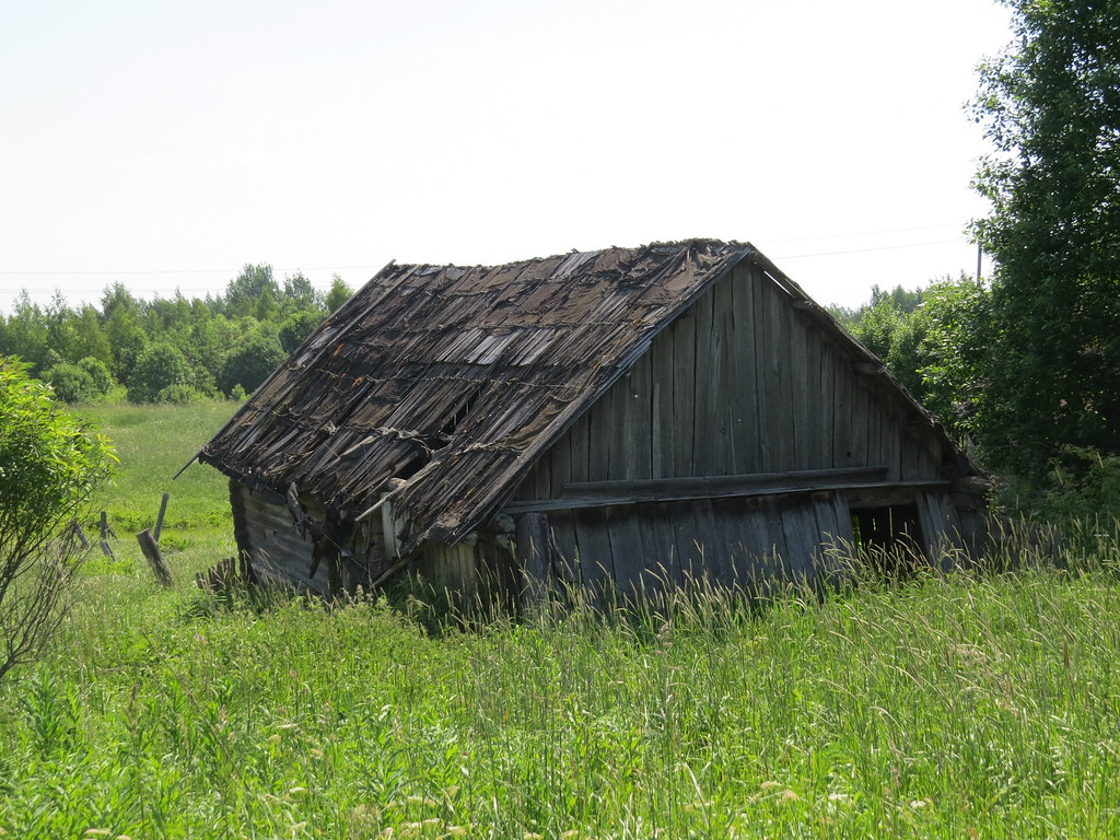 Заброшенный хлев
