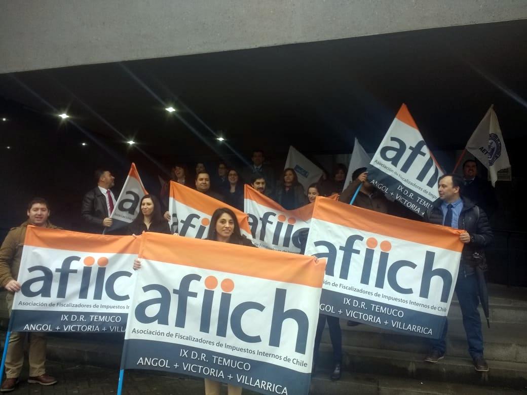 En Regiones y Santiago, éxito total del Paro Nacional del SII – 29 Agosto 2018