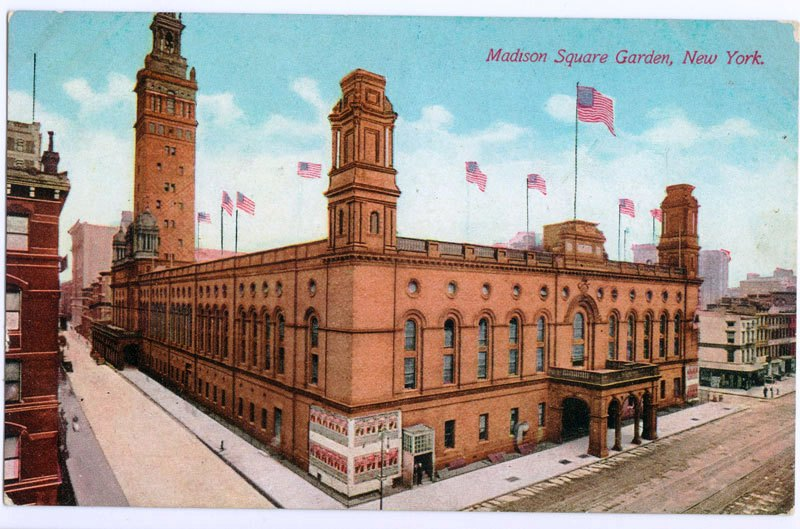 Original Madison Square Garden 4th ave