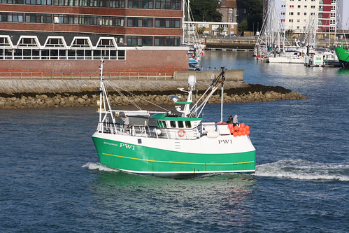 Fishing Boat PW1 BERLEWEN