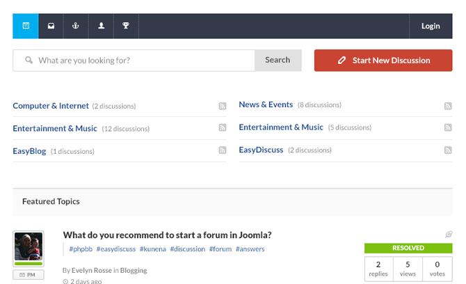 EasyDiscuss Pro v4.1.1 – Smarter Forums For Joomla