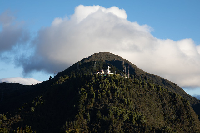 Cerro de Guadalupe from Monserrate