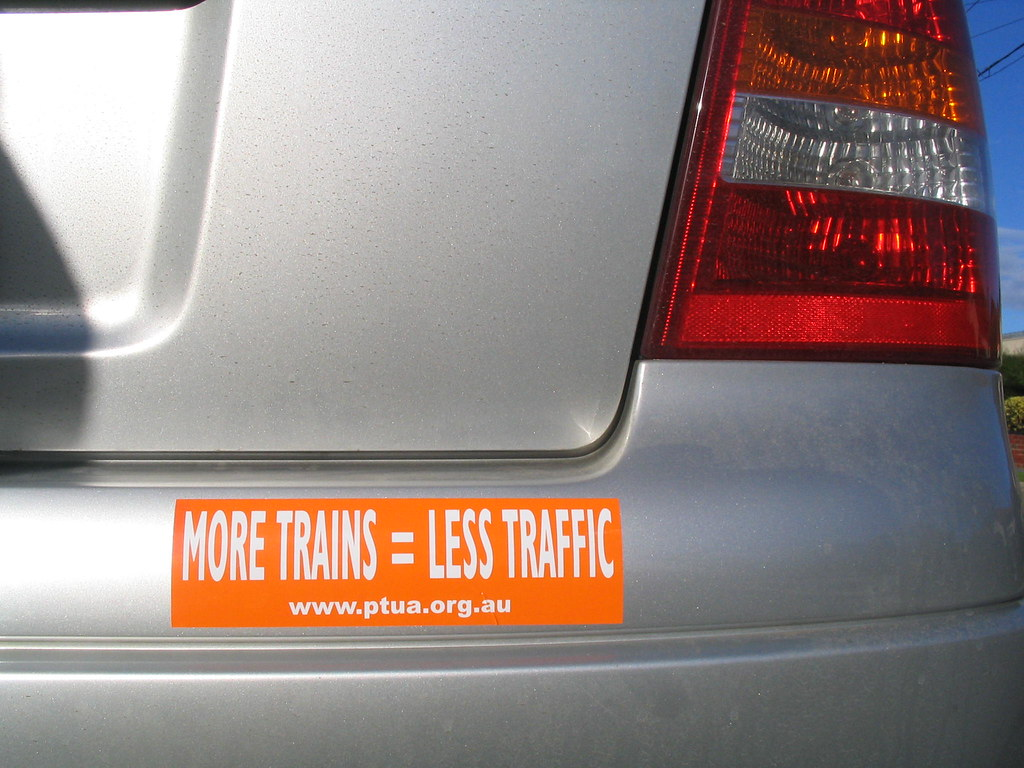 The new car, August 2008, with new sticker