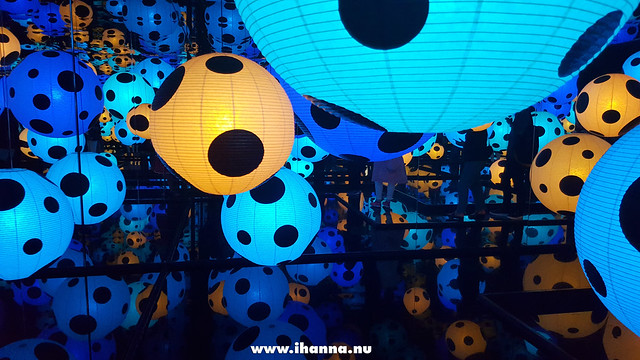 Yayoi Kusama's Art Installation in Sweden (in Swedish colours and lots of polka dots) Photo Copyright Hanna Andersson #vlog