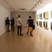 """""""Des del Groc"""", instal·lació de Marià Dinarès formada per nou peces pictòriques que parlen de la llibertat d'expressió des del color."""