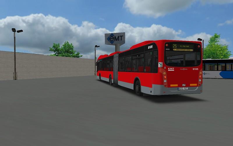 EMT Valencia Vanhool AG300 Repintado 43752366184_cfc9c98783_c