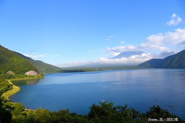 本栖湖千円札富士-千元日幣背面富士山拍攝地10