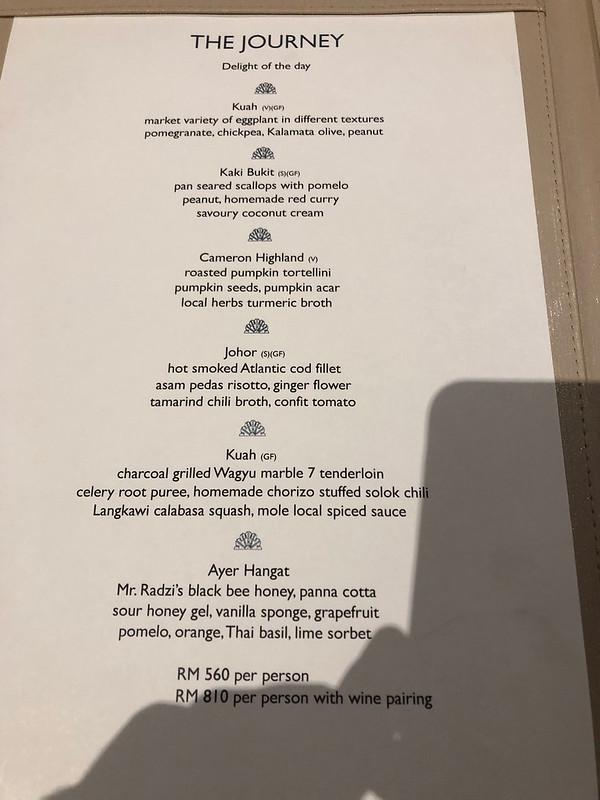 Kayu Puti Restaurant  - St Regis Langkawi