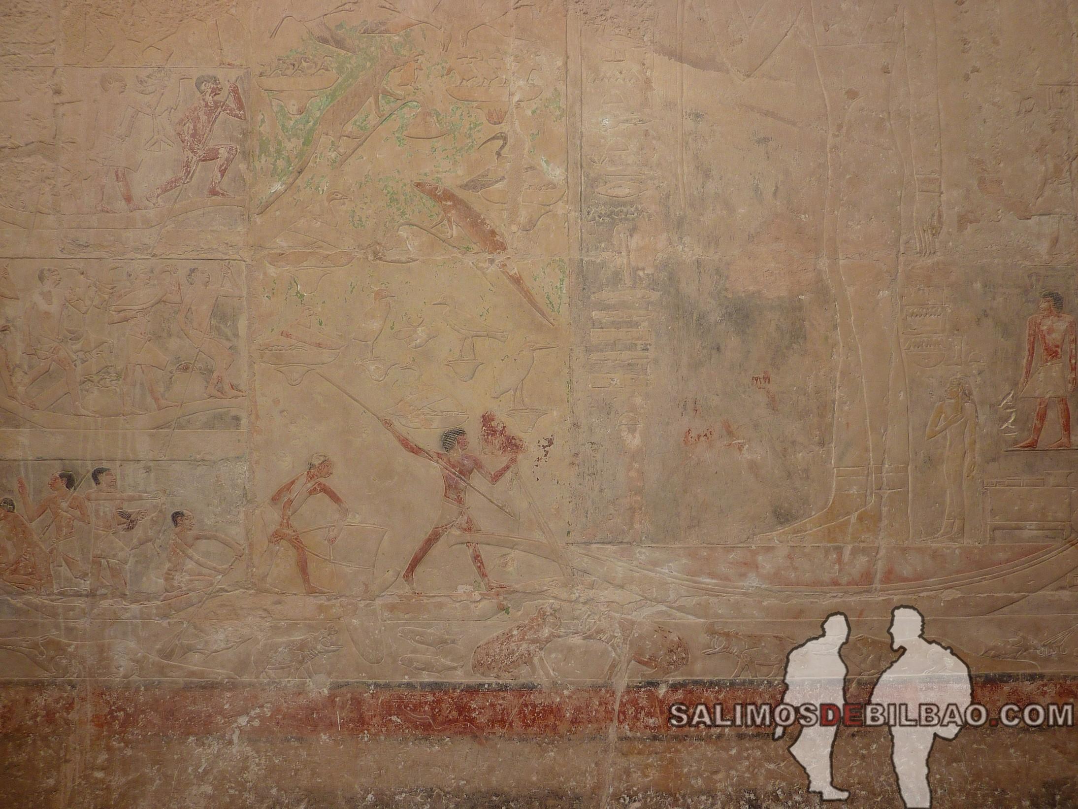 0331. Tumbas en el Complejo de la Pirámide escalonada de Zoser, Saqqara