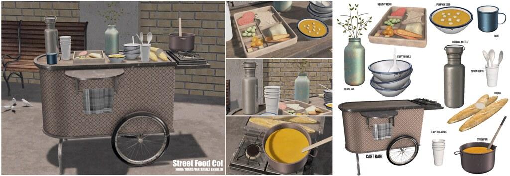 Serenity Style-Street Food Gacha Col - TeleportHub.com Live!