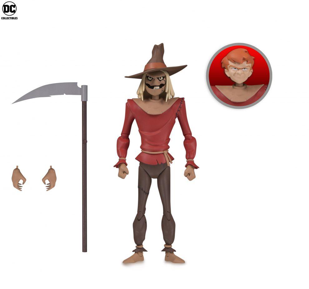 這將是研究「恐懼」本質的大好機會!! DC Collectibles《蝙蝠俠:動畫系列》稻草人 Batman: The Animated Series Scarecrow 6吋可動人偶作品