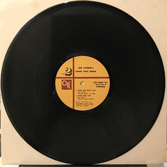 JOE FARRELL:UPON THIS ROCK(RECORD SIDE-B)