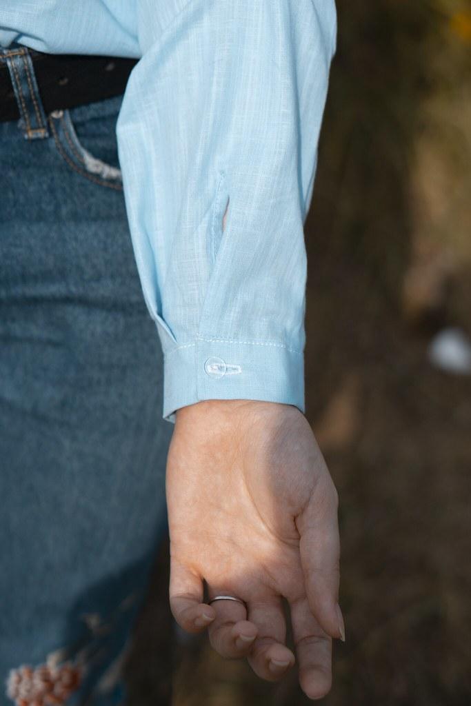 Я шью: Льняная рубашка