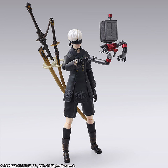 Nier: Automata 9S Action Figure by Bring Arts