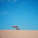 Parasole on West Bay beach by lomokev
